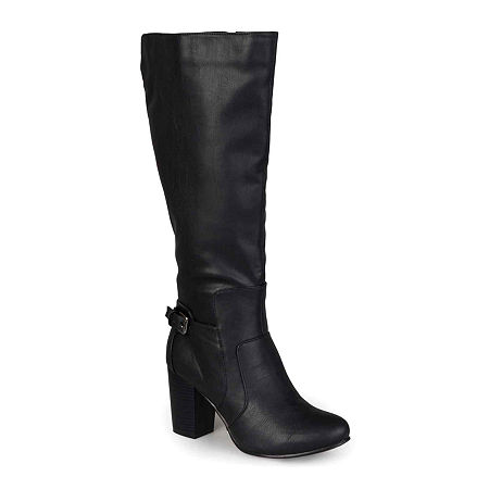 Journee Collection Womens Carver Boots, 8 1/2 Medium, Black