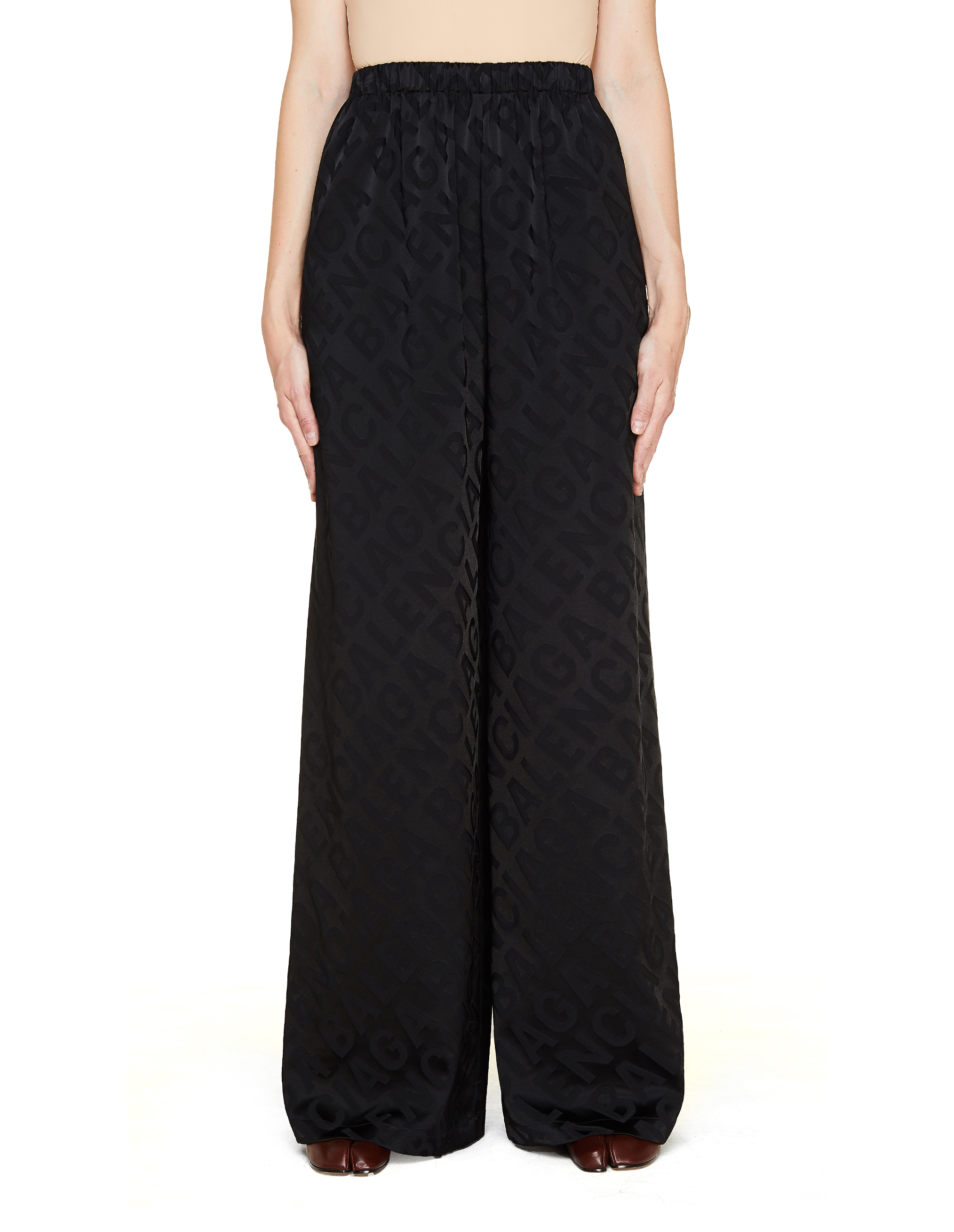 Balenciaga Allover Large Logo Trousers