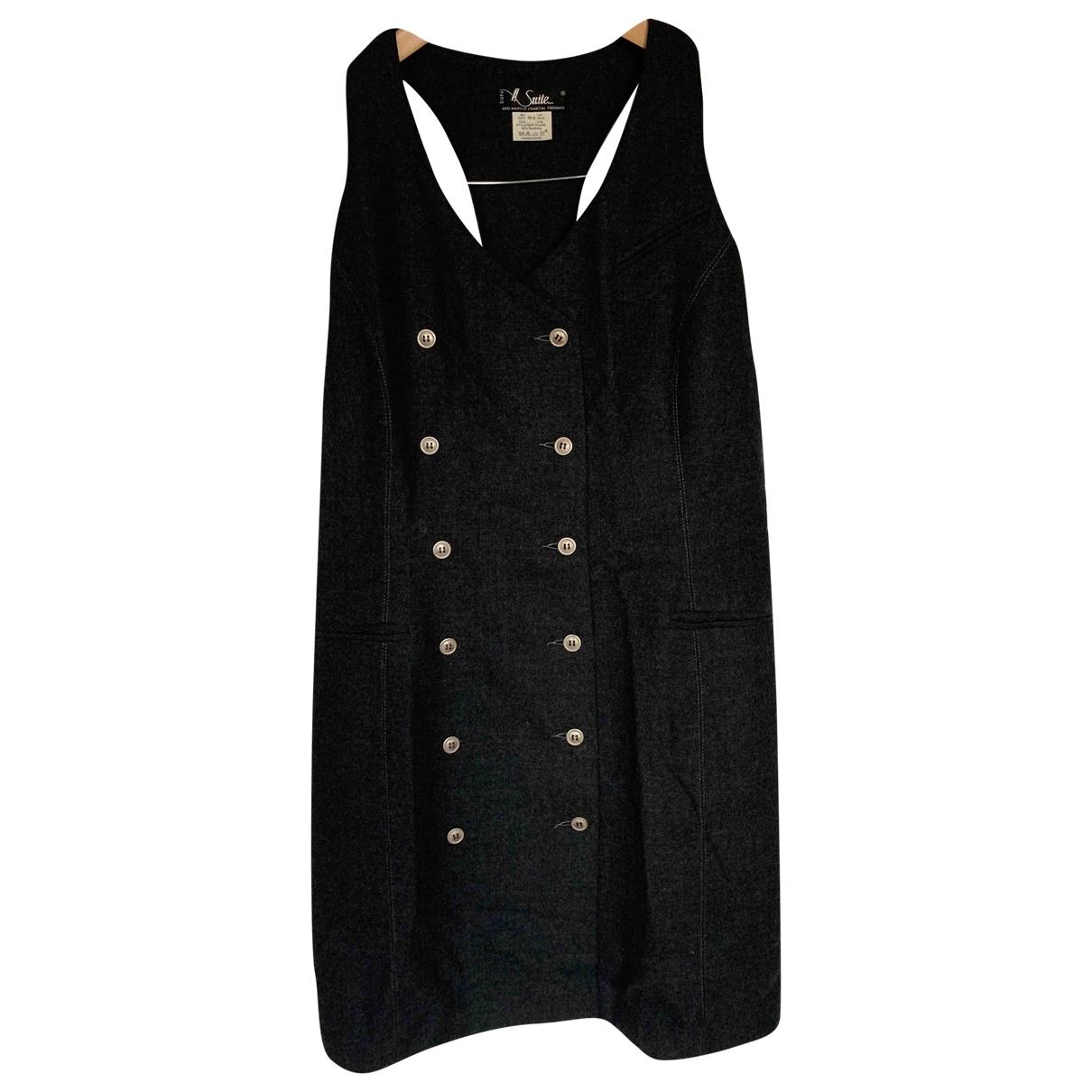Chantal Thomass \N Kleid in  Grau Wolle