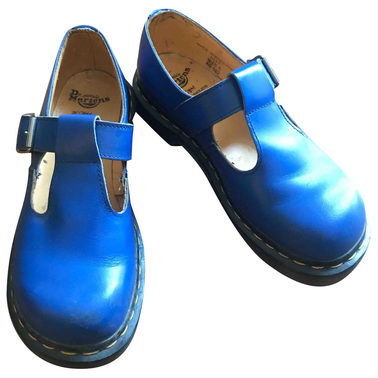 Dr. Martens \N Mokassins in  Blau Leder