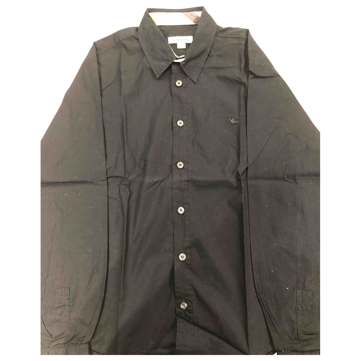 Burberry \N Black Cotton  top for Kids 12 years - XS FR