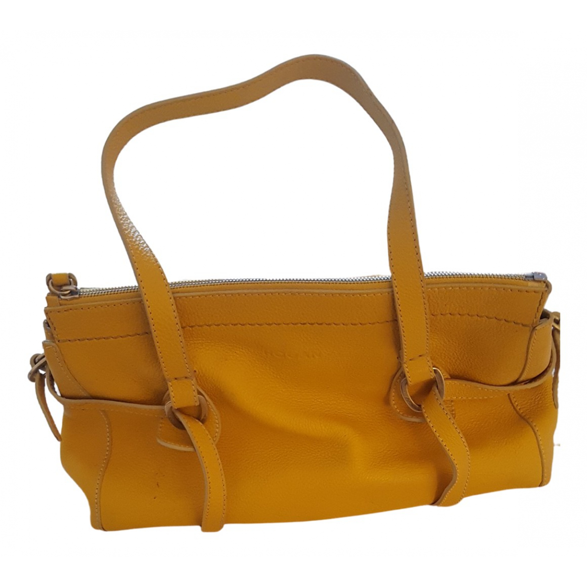 Hogan \N Yellow Leather handbag for Women \N