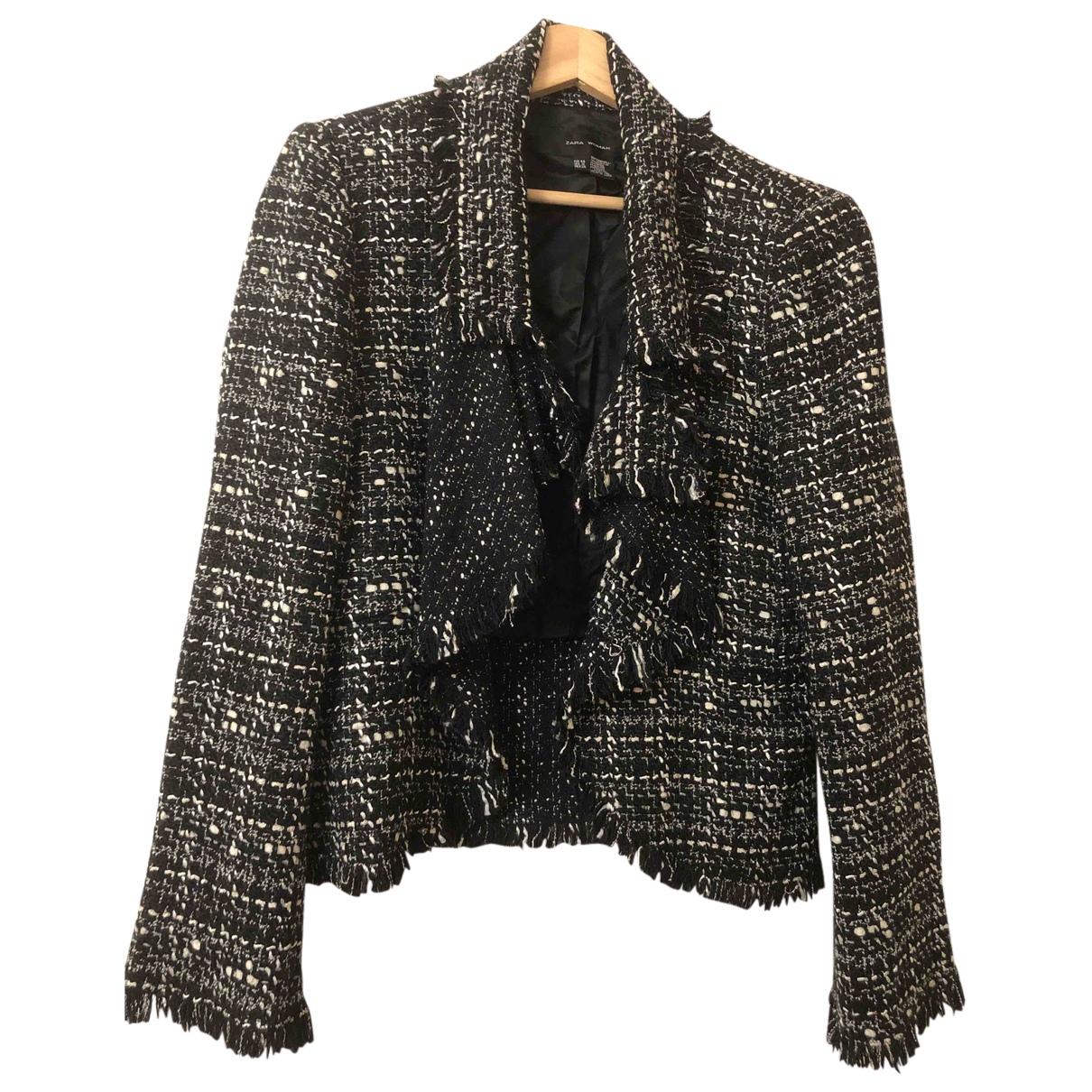 Zara N Grey Tweed jacket for Women 44 FR