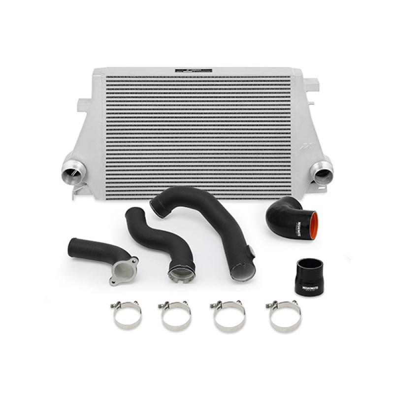 Mishimoto MMINT-CAM4-16KWBK Intercooler Kit (Wrinkle Black) Chevrolet Camaro | Cadillac ATS 2013+