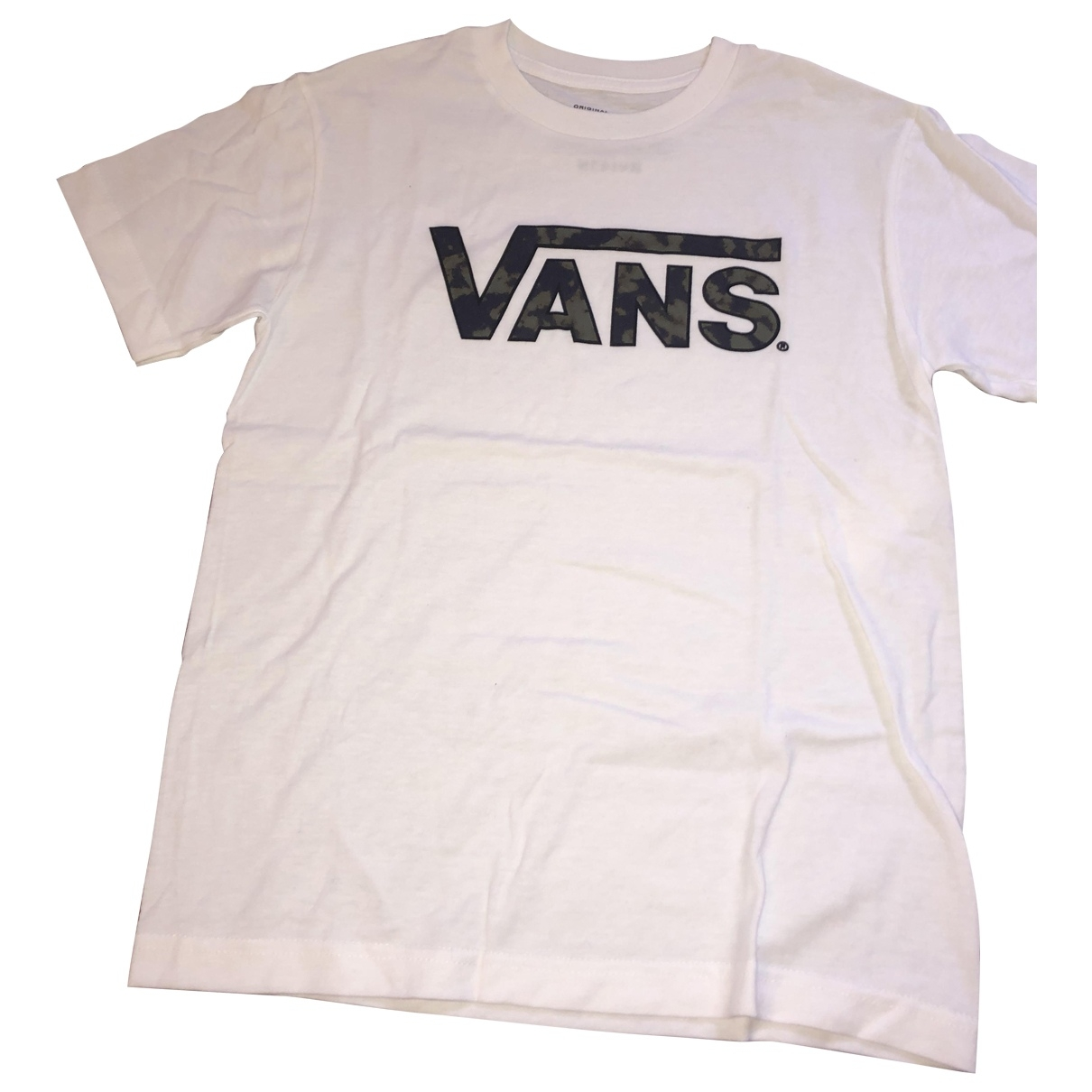 Vans \N White Cotton  top for Kids 14 years - S UK