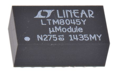 Analog Devices LTM8045IY#PBF, 1, Buck Boost Regulator 700mA, Adjustable, 2 MHz 40-Pin, BGA