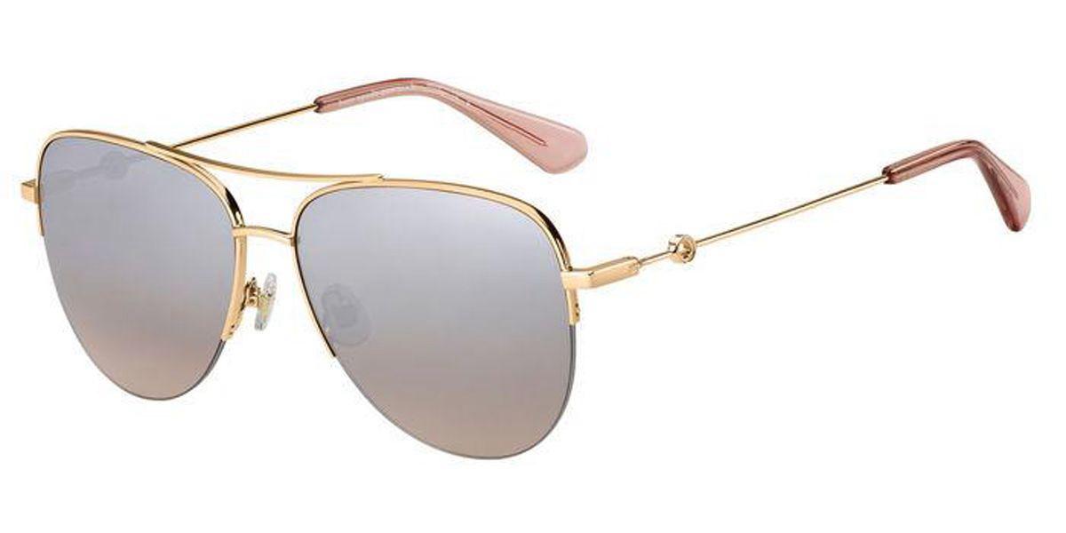 Kate Spade MAISIE/G/S 35J/G4 Women's Sunglasses Gold Size 60