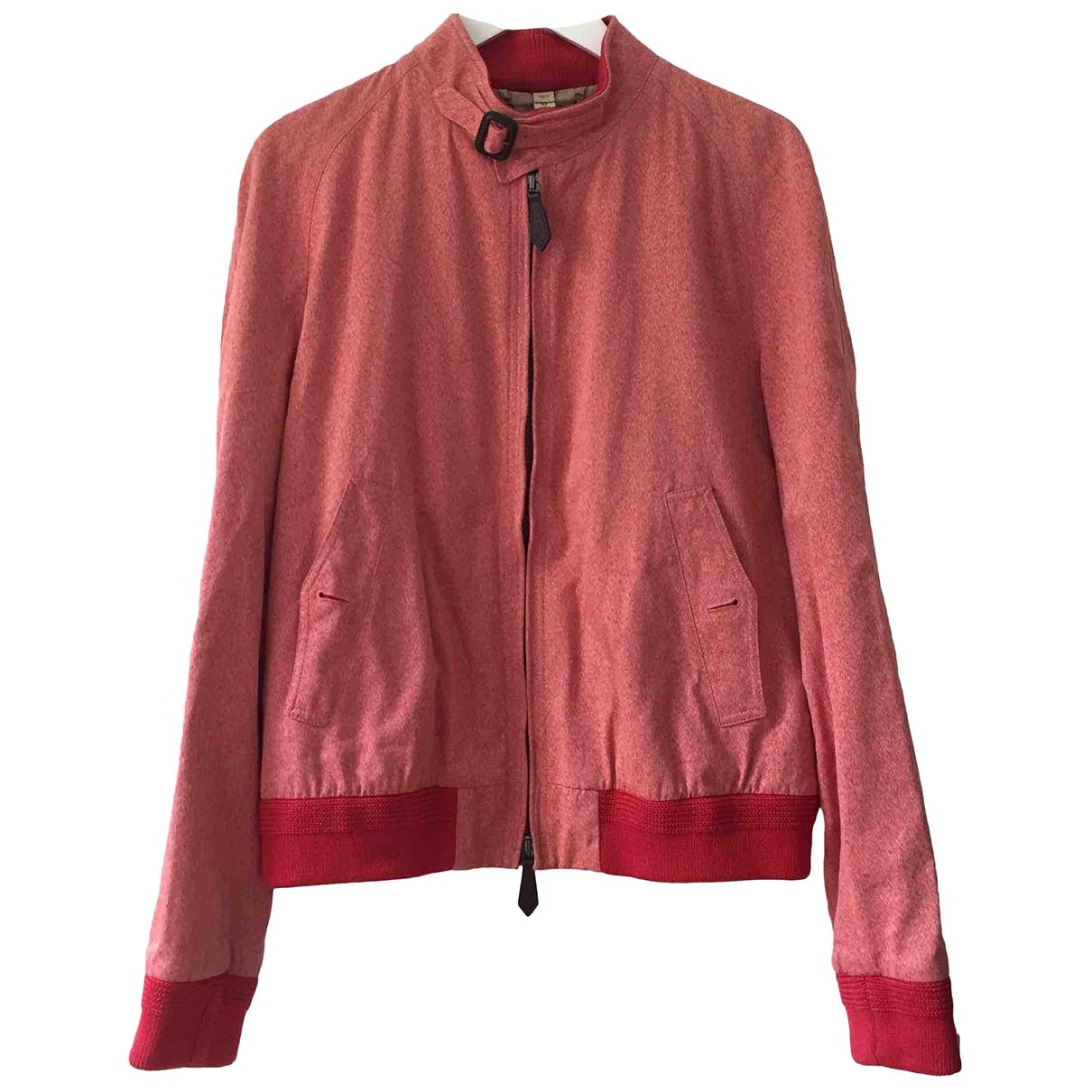 Burberry \N Jacke in  Rot Baumwolle