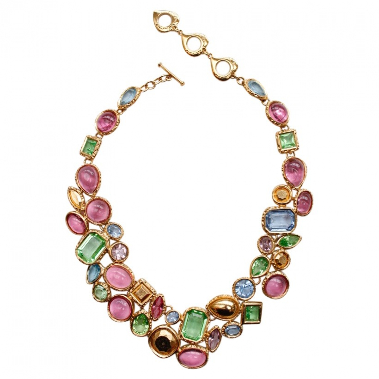Yves Saint Laurent - Collier   pour femme en metal - multicolore