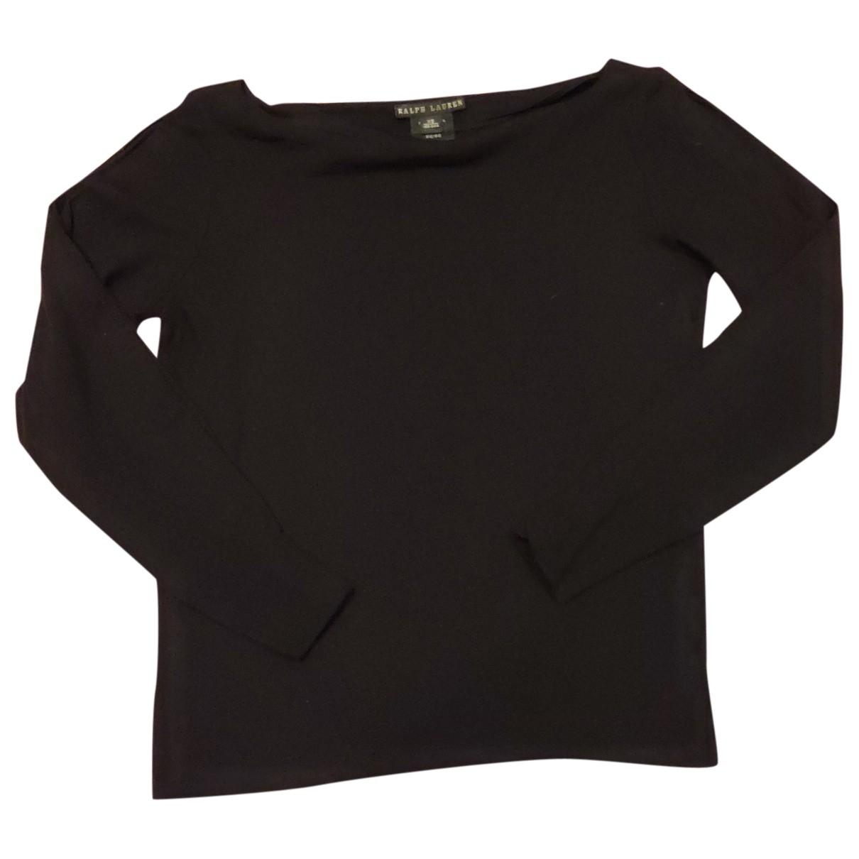 Ralph Lauren \N Black Wool  top for Women XS International