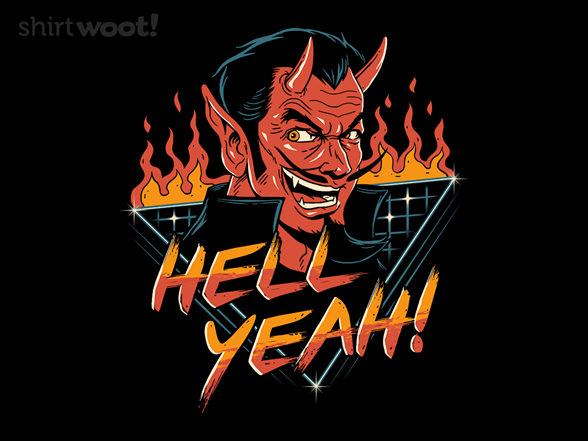 Retro Hell Yeah! T Shirt