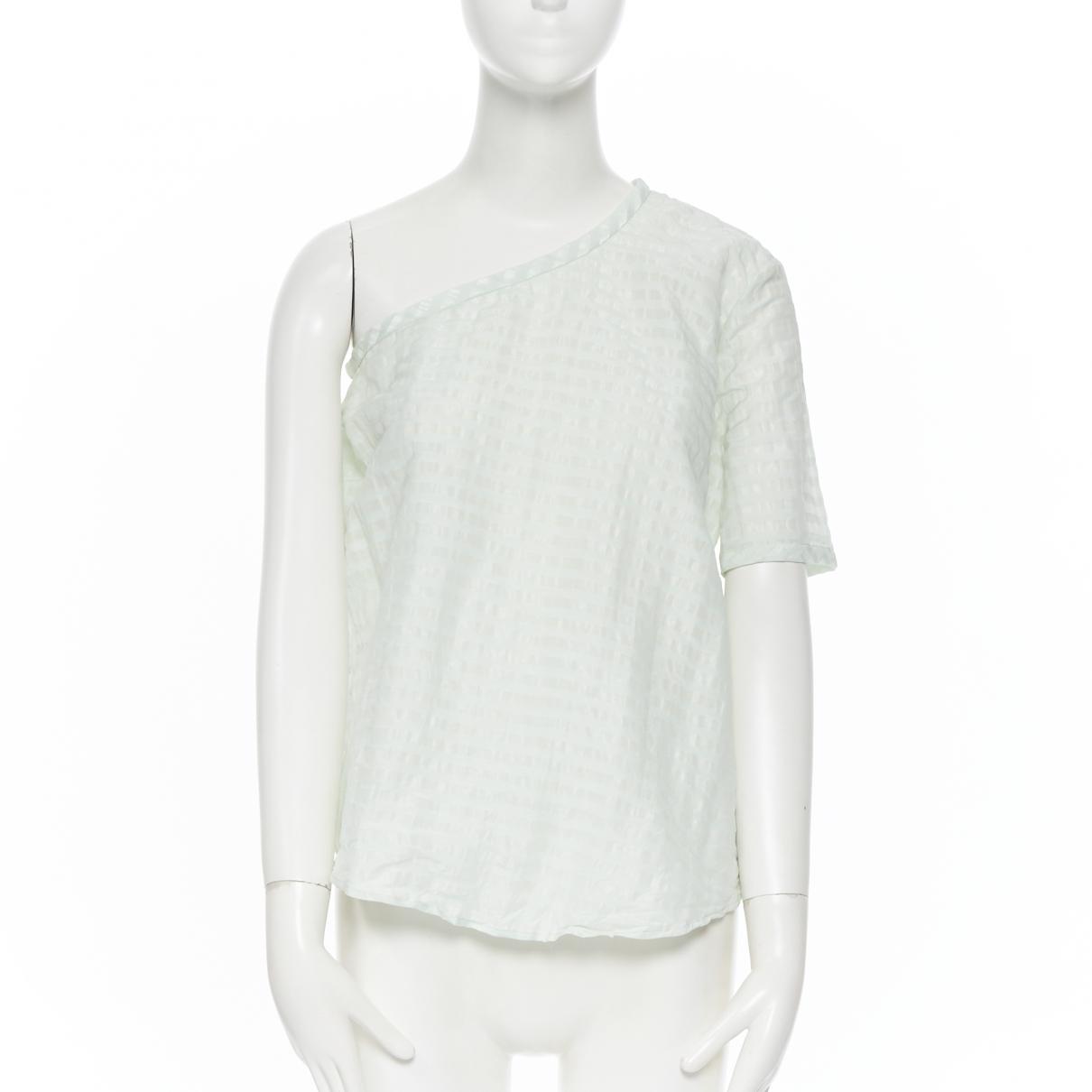 Rosie Assoulin - Top   pour femme en soie - vert