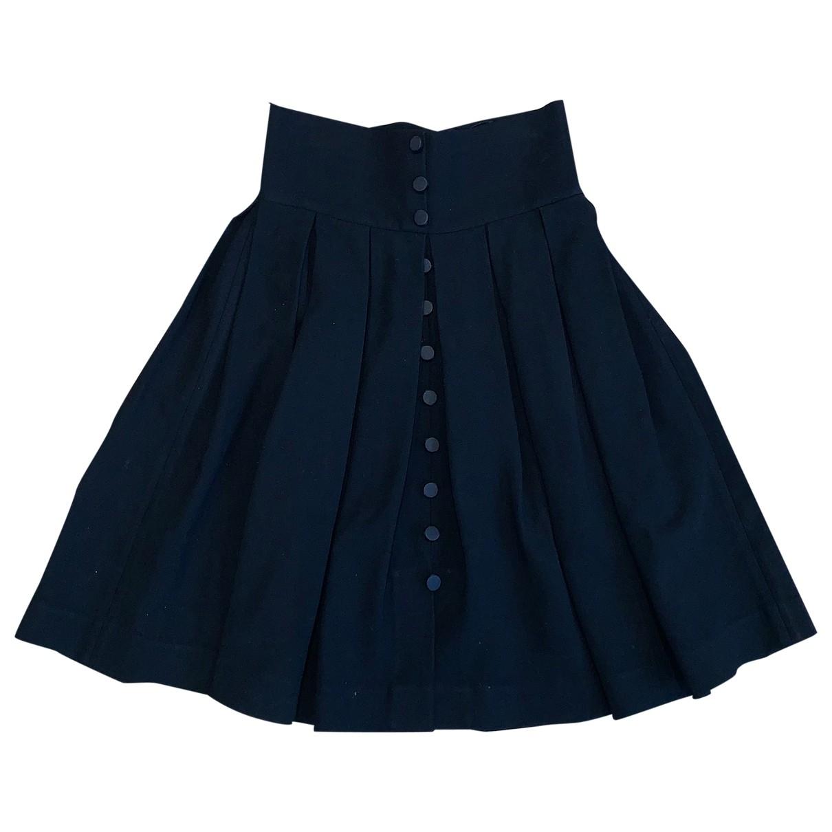 Dolce & Gabbana \N Black skirt for Women 38 IT