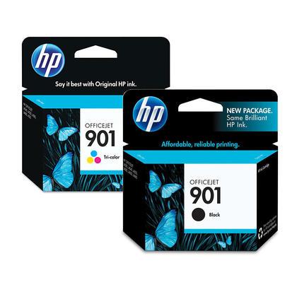HP OfficeJet J4580 cartouches dencre noire et couleur originale combo