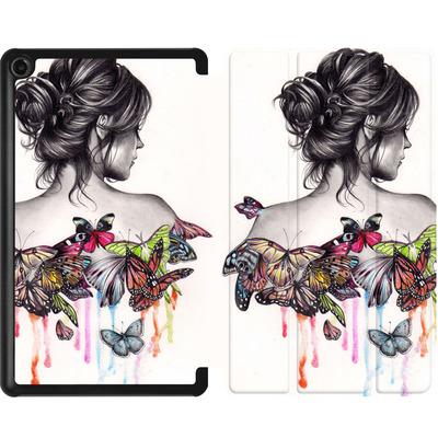 Amazon Fire 7 (2017) Tablet Smart Case - Butterfly Effect von Kate Powell