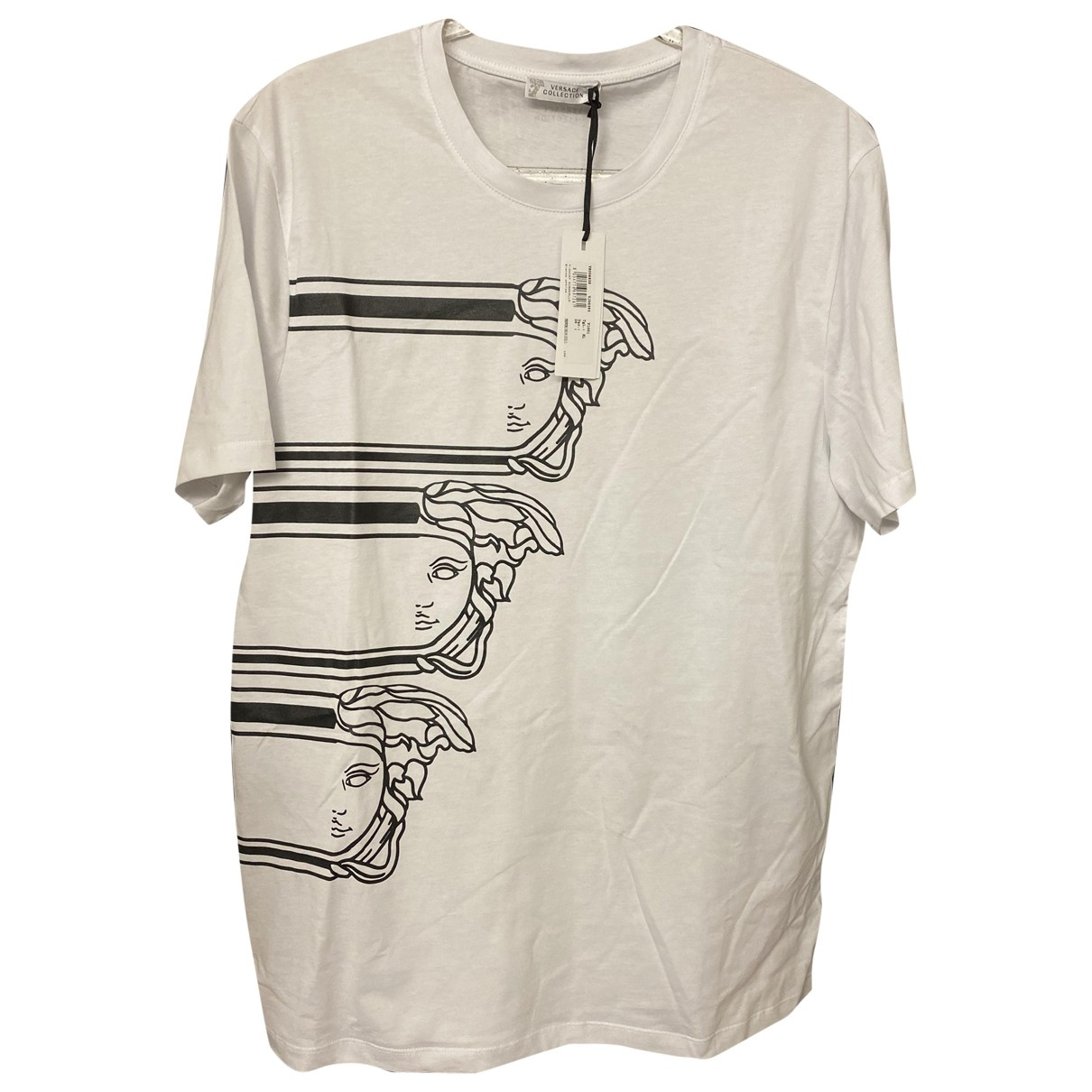 Versace \N T-Shirts in  Weiss Baumwolle