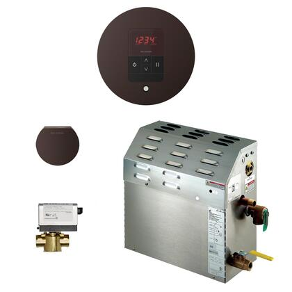 225C1ATRDORB 7.5kW Steam Bath Generator with iTempo AutoFlush Round Package in Oil Rubbed