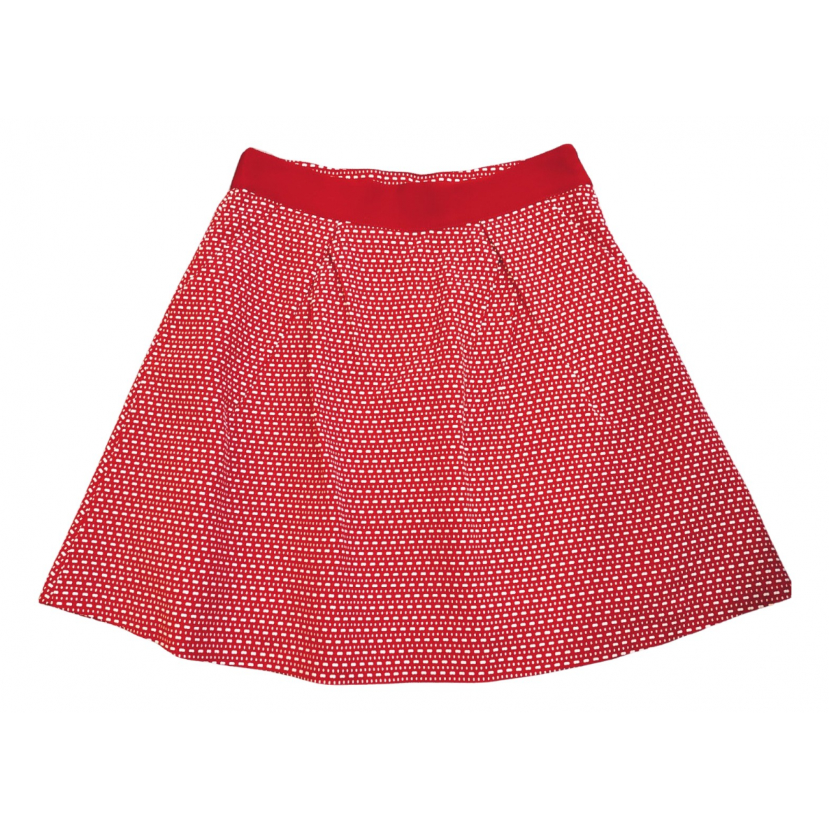 Moschino N Red Cotton skirt for Women 44 IT