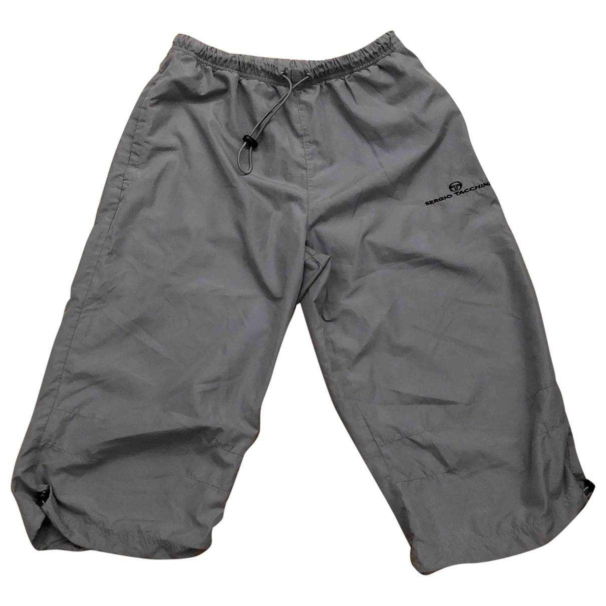 Sergio Tacchini \N Grey Trousers for Men L International