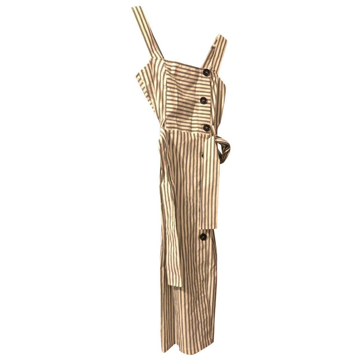 tophop \N Ecru Cotton dress for Women 4 UK