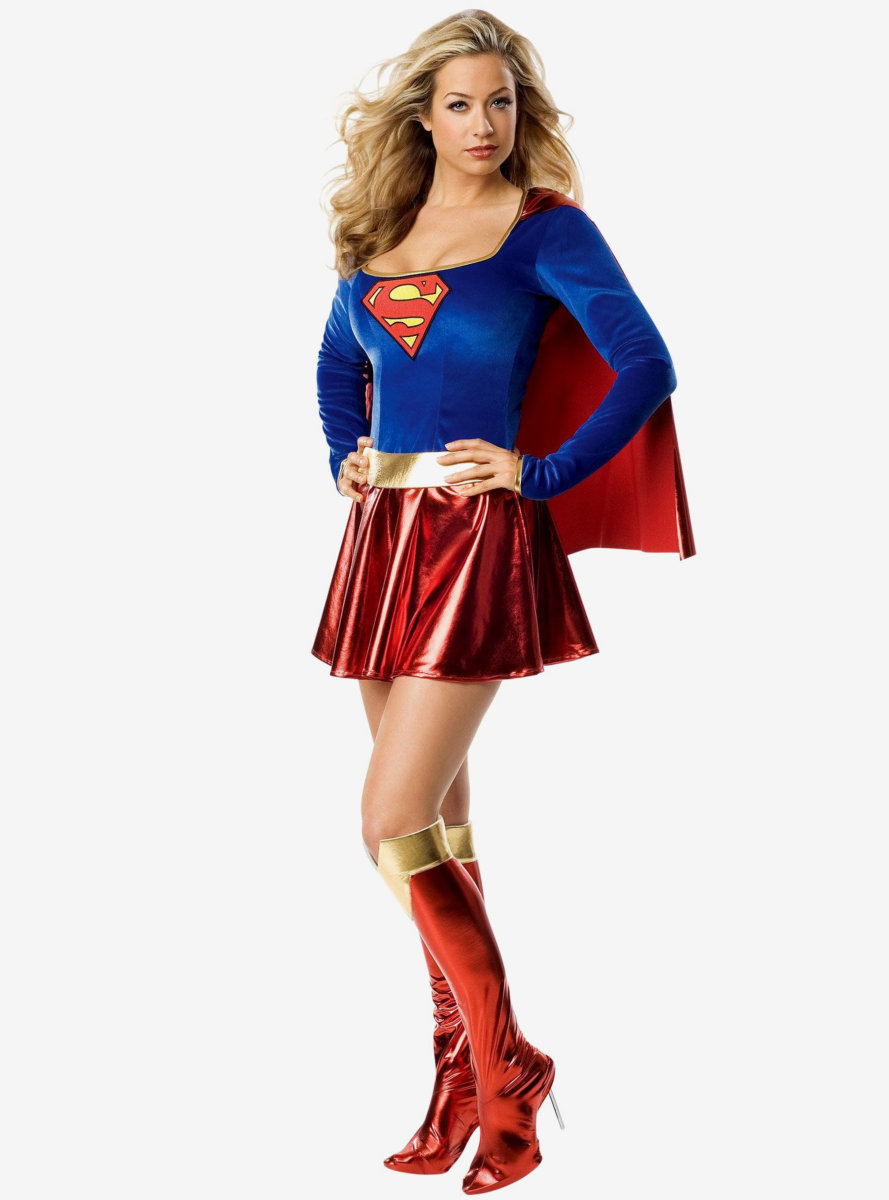 DC Comics Supergirl One Piece Costume