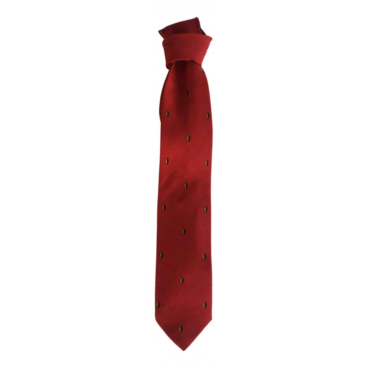 Giorgio Armani \N Krawatten in  Rot Wolle