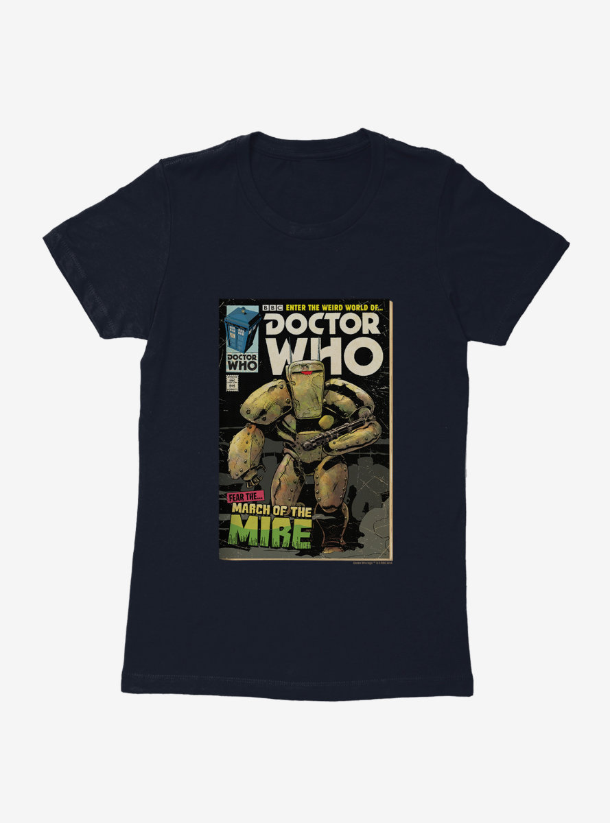 Doctor Who March Of The Mire Comic Womens T-Shirt