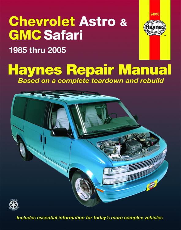 Chevrolet Astro and GMC Safari (85-05) Haynes Repair Manual