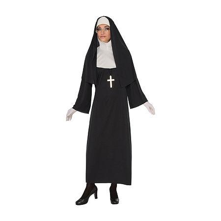 Womens Nun Costume Costume, Small , Multiple Colors