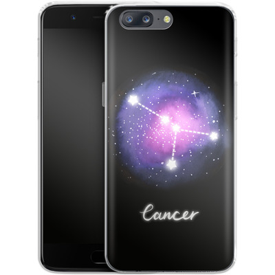 OnePlus 5 Silikon Handyhuelle - CANCER von Becky Starsmore