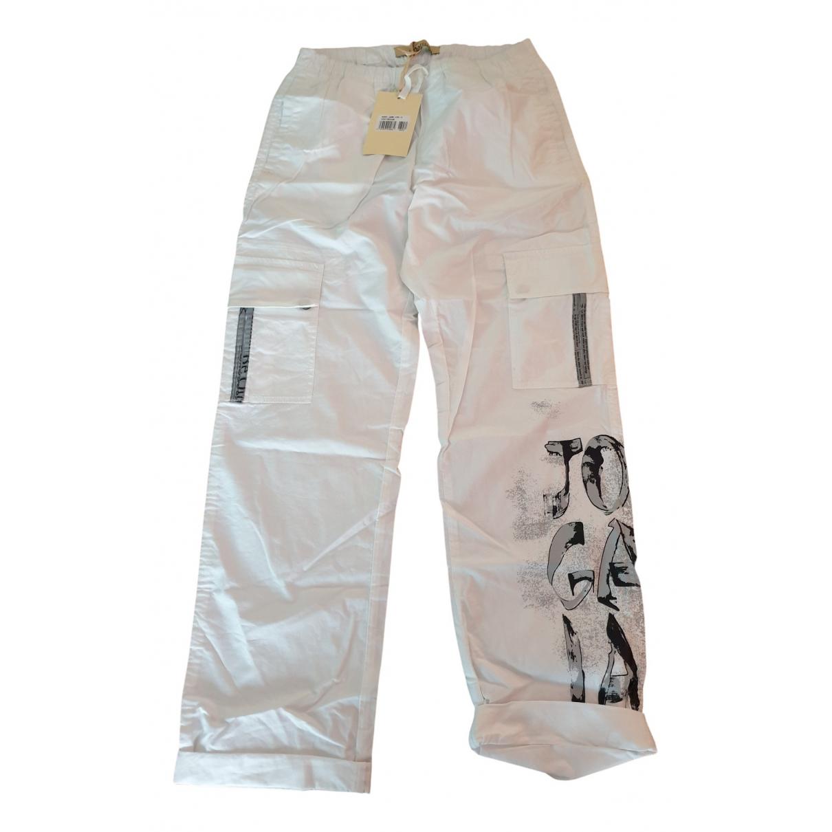 John Galliano - Pantalon   pour enfant en coton - blanc