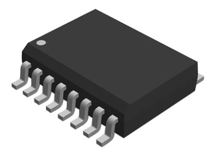 Maxim Integrated MAX14854GWE+, Line Transceiver, 1993/ RS-485, EIA RS-422, 1.71 → 5.5 V, 16-Pin SOIC (46)