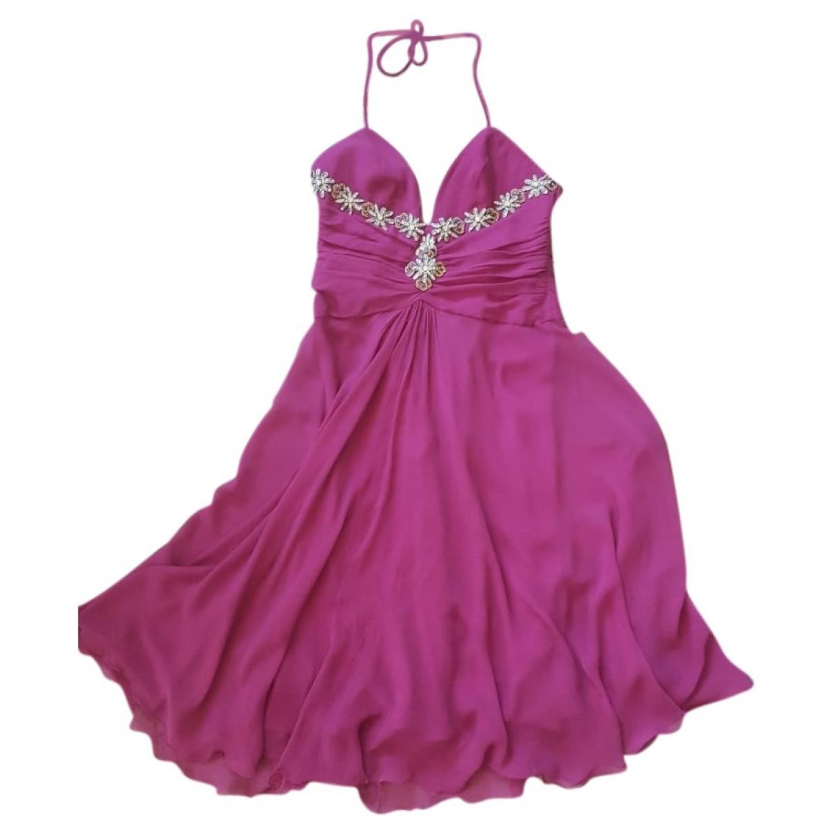 Max Mara \N Kleid in  Lila Seide