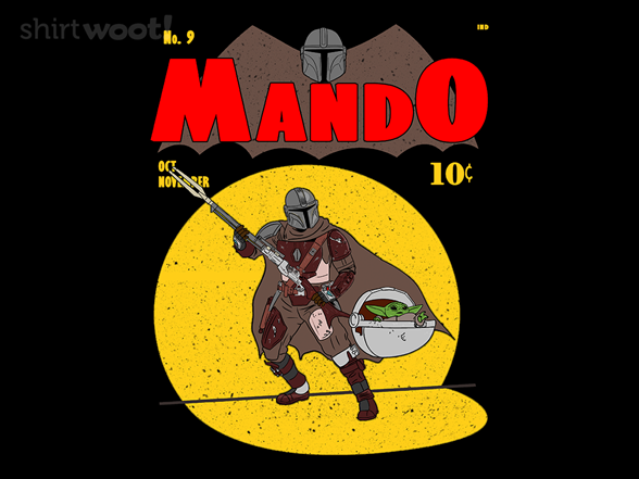 Mando Man T Shirt