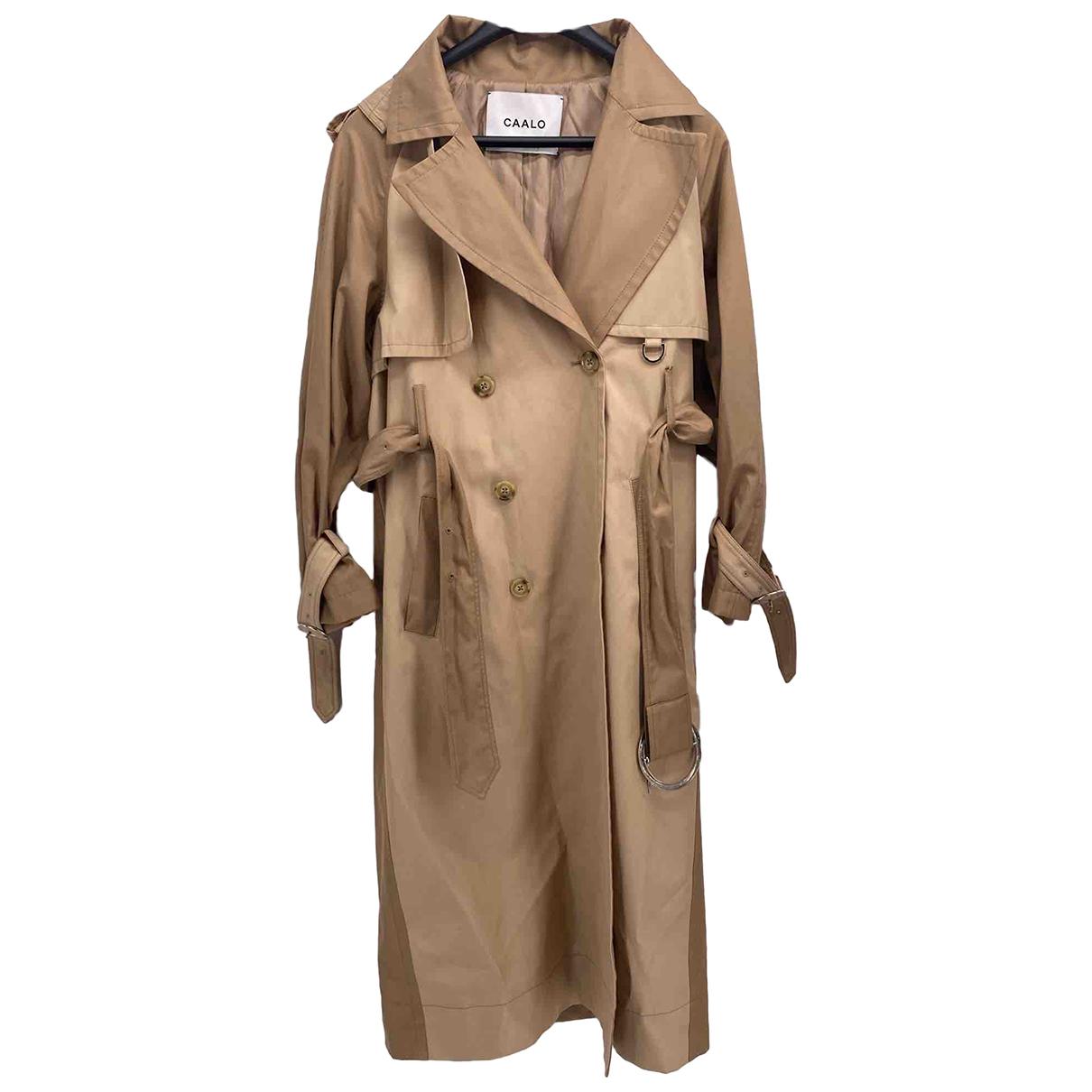 Autre Marque N Camel Cotton coat for Women S International