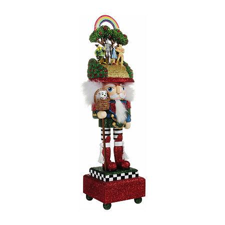 Kurt Adler 20-Inch Hollywood Wizard Of Oz Musical Christmas Nutcracker, One Size , Multiple Colors