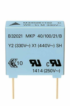 EPCOS Capacitor PP Suppression 1500pF 300V Y2 (1000)