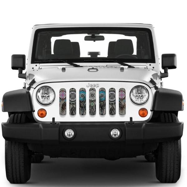 Under The Sun Inserts INSRT-DRMCAT-JK Dreamcatcher Grill Inserts Jeep Wrangler JK 2008-2018