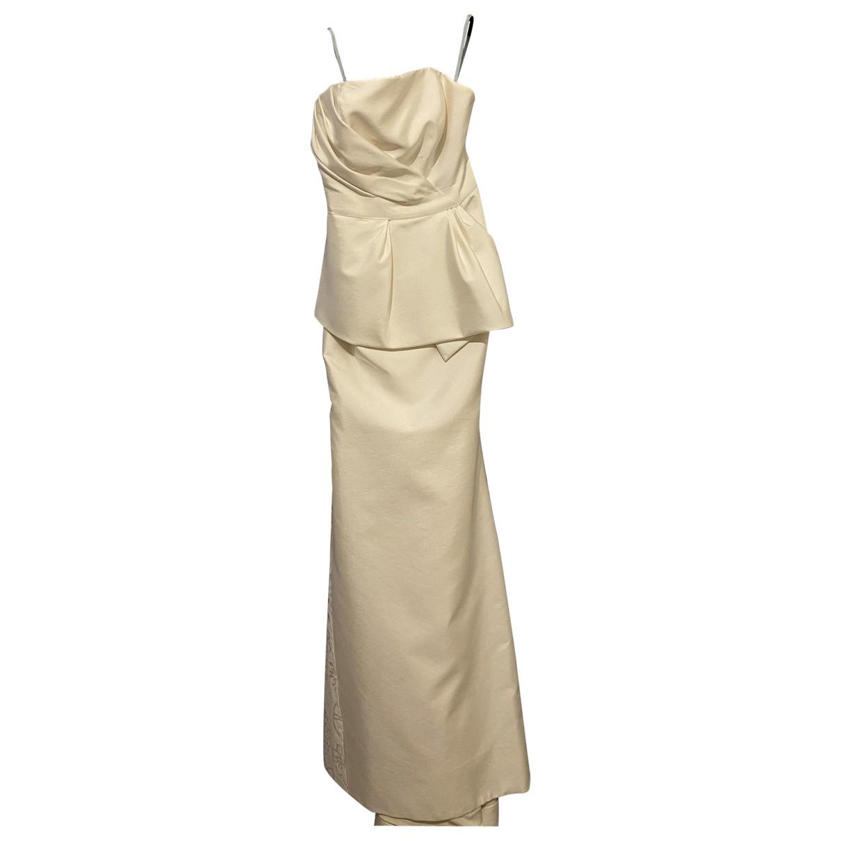 Carolina Herrera - Robe   pour femme en soie - blanc