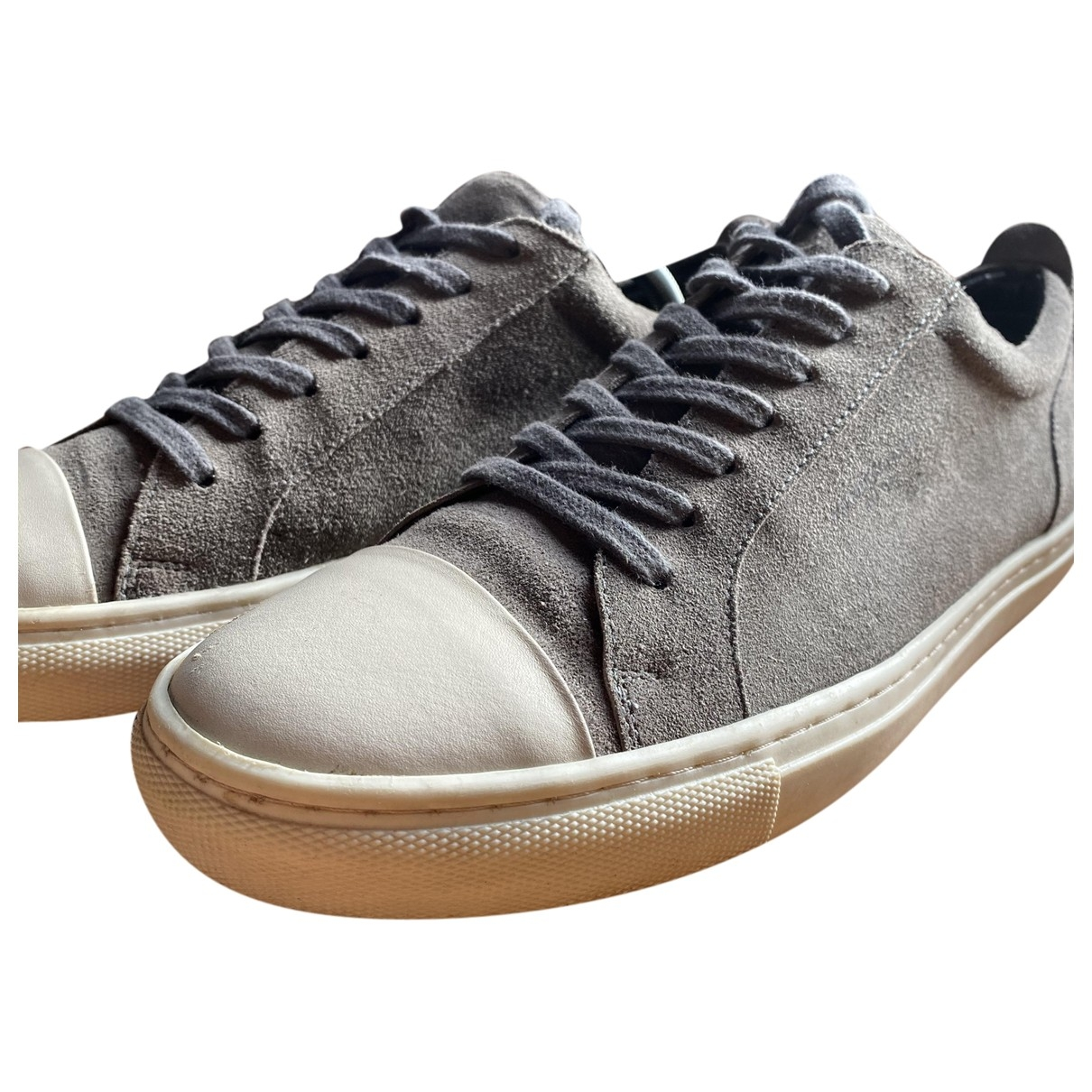 Kurt Geiger \N Grey Suede Trainers for Men 43 EU