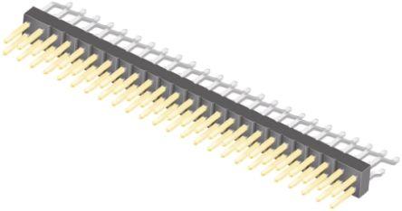 Samtec , TSM, 50 Way, 2 Row, Right Angle Pin Header