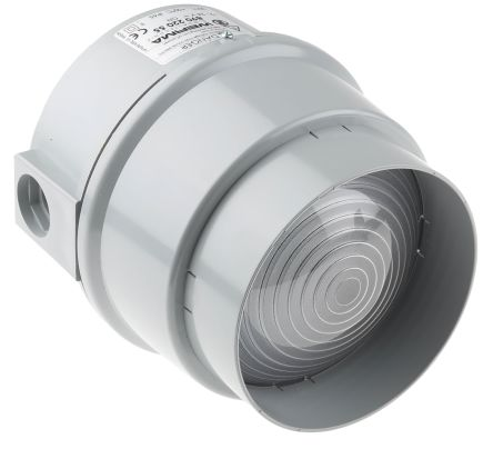Werma 890 Green LED Beacon, 12 → 24 V dc, Steady, Base Mount