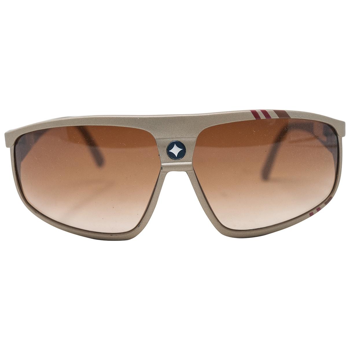 Ag Spalding & Bros \N Gold Sunglasses for Men \N