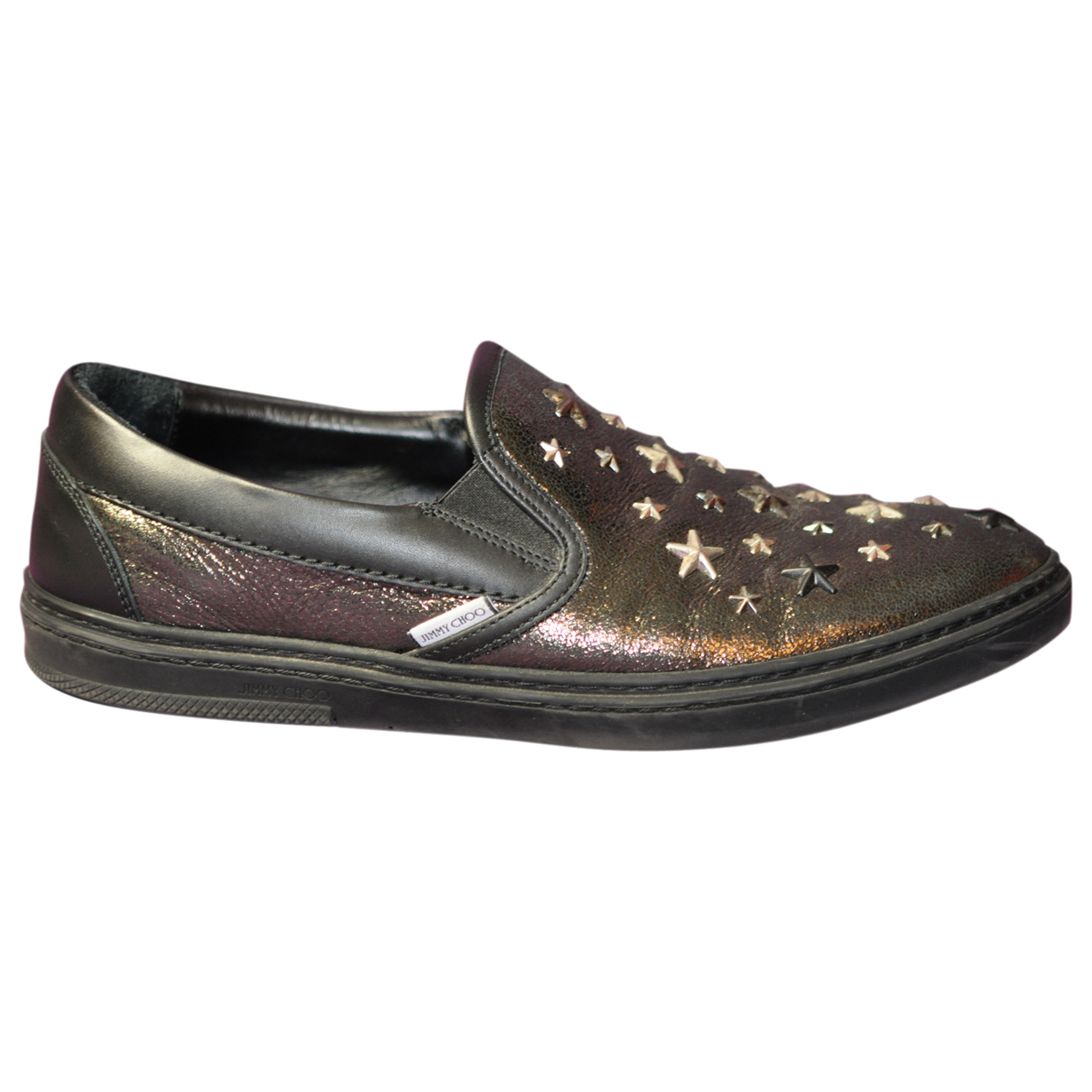 Jimmy Choo \N Metallic Leather Trainers for Men 42 EU