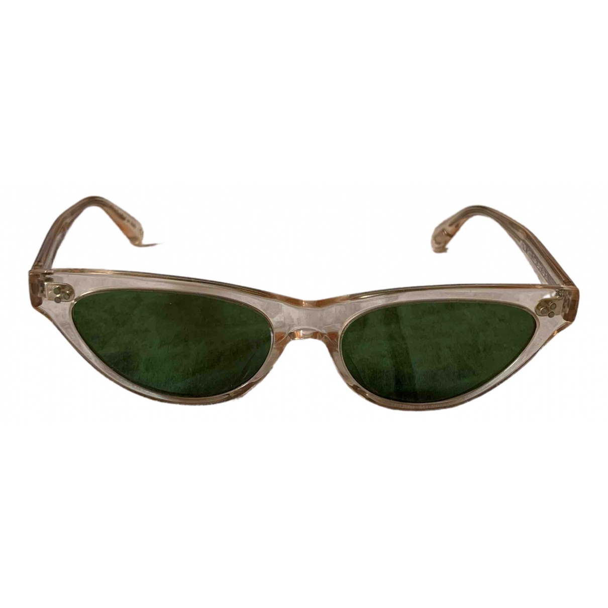 Oliver Peoples \N Green Sunglasses for Women \N