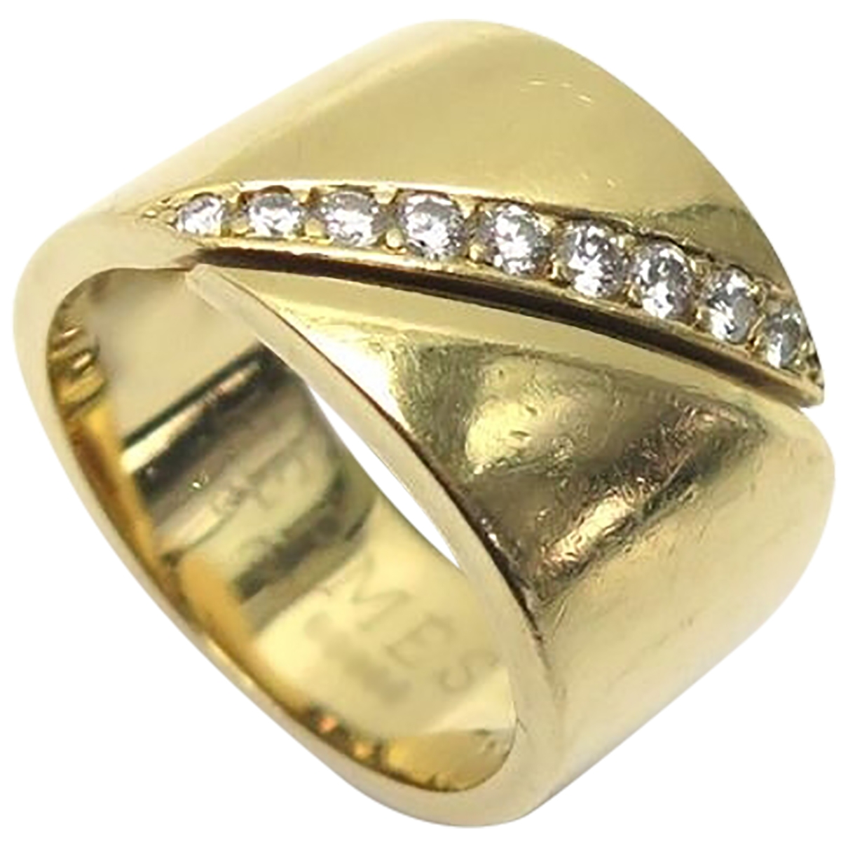 Hermes \N Ring in  Gold Gelbgold