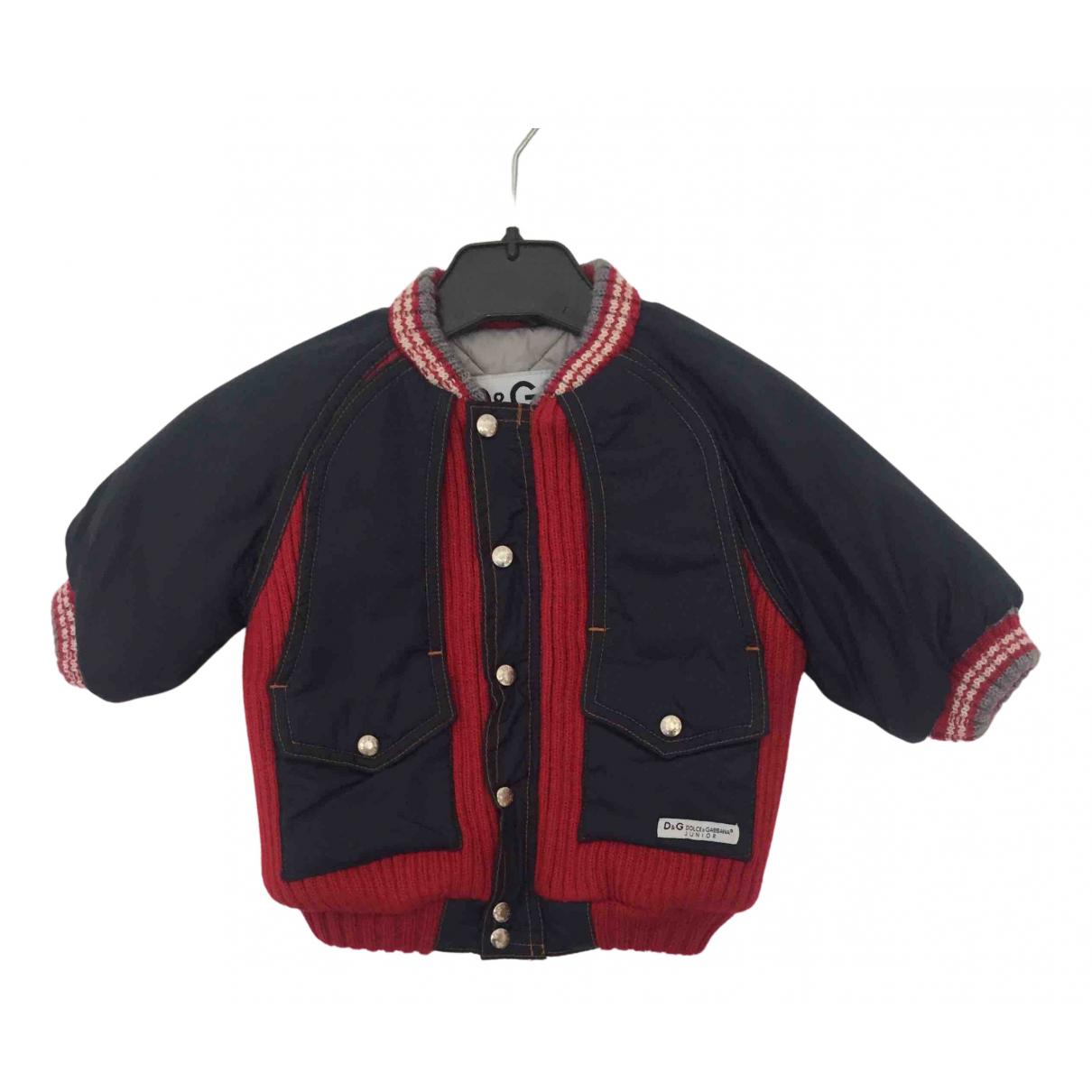 Dolce & Gabbana N Blue jacket & coat for Kids 3 months - up to 60cm FR
