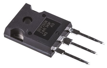 Infineon N-Channel MOSFET, 50 A, 200 V, 3-Pin TO-247AC  IRFP260NPBF (25)