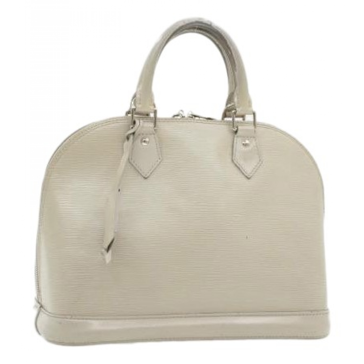 Louis Vuitton Alma Grey Leather handbag for Women N
