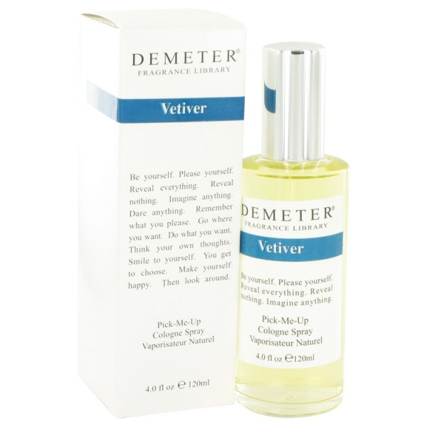 Demeter - Vetiver : Cologne Spray 4 Oz / 120 ml